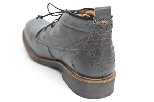 Wrangler POUR HOMME Casual désert dentelle jusqu'à doublure en fourrure cheville bottes taille UK 6-12 Gris