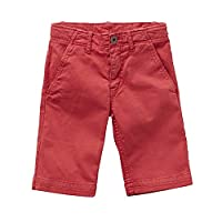 Levi's Boys NF25037 Chino Shorts, Red (Brick), 10 Years