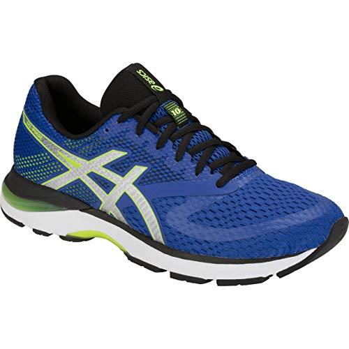 ASICS Gel-Pulse 10, Chaussures de Running Compétition Homme, Multicolore (Imperial/Silver 401), 42.5 EU
