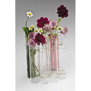 Glass Vase Test Tube 14cm Amazon Kitchen Home
