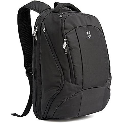 Evecase Mochila para Portátil 15,6 – 17,3 pulgadas y Tablet, Mochila Escolares, Bolsa para Laptop,
