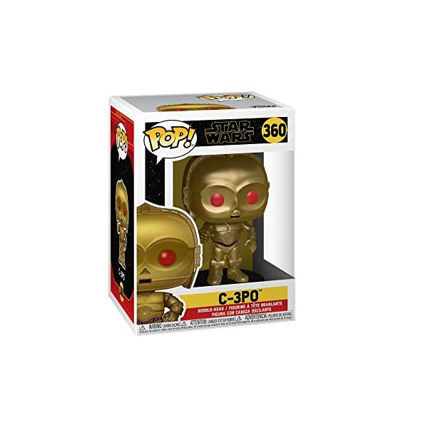 Funko Pop C-3PO ojos rojos (Star Wars 360) Funko Pop Star Wars