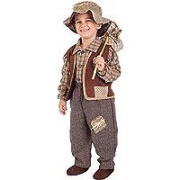 Costume di Carnevale da Contadino Vestito per Ragazzo Bambino 7-10 Anni  Travestimento Veneziano Halloween 8383fcbfbab