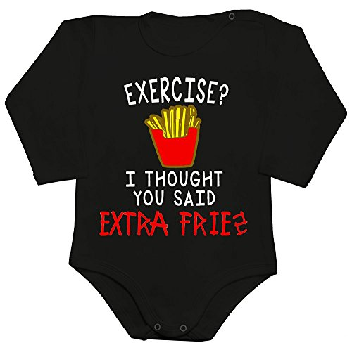 excercise-i-thought-you-said-extra-fries-design-baby-romper-long-sleeve-bodysuit-large