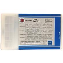 Ink Master - Cartucho compatible EPSON T6032 CYAN T6032 para Epson Stylus Pro 7800 7880 9800 9880