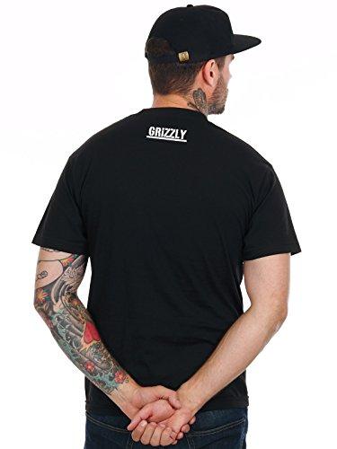 Grizzly T-Shirt SU17 OG Bear Schwarz Schwarz