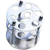 In acciaio INOX di alta qualità, finitura lucida, porta spazzolini da denti Brushed Finish 11 X 11 X 13.5CM