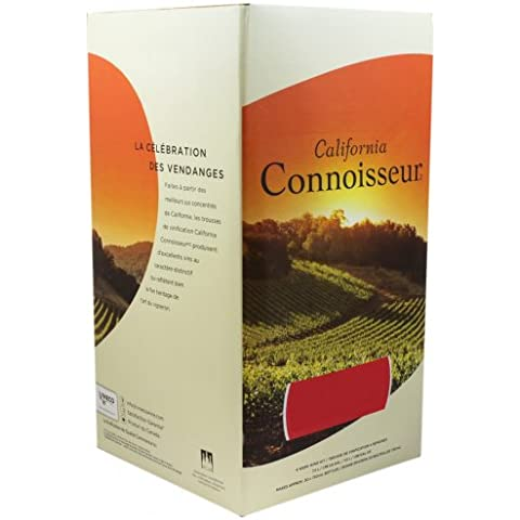 California Connoisseur Shiraz 6 Bottiglia di vino home Brew Kit