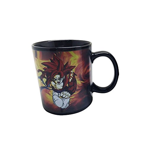 Taza de café reactiva para Dragon Ball Z