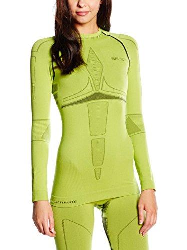 Spaio Ultimate Maglietta Donna manica lunga, lime, S