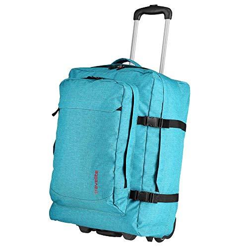 3df5becbe43fa Travelite Basics 2-Rollen Reisetasche 53 cm mit Rucksackfunktion