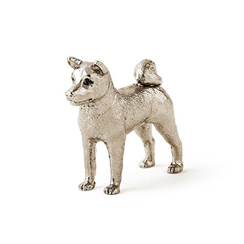 Akita dog dog figure made in UK (japan import)