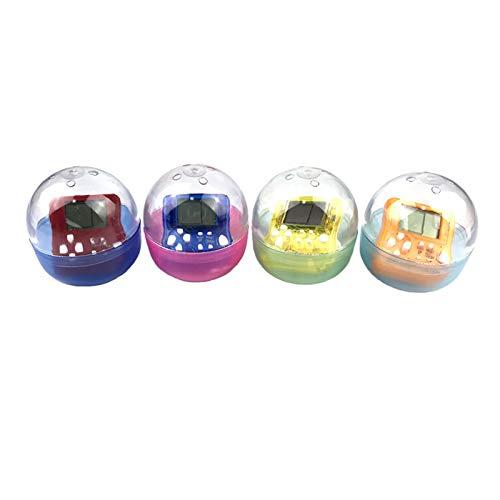 Semoic Portable Tetris Game Console Portachiavi con Ciondolo LCD Lettori palmari per Giochi Bambini Giocattoli elettronici educativi Consumatori di Mini Giochi