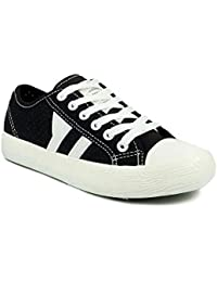 Ripley Black Striped Series Casual Shoes
