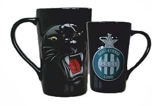 Mug Tasse à café thé Cappuccino ASSE - Collection officielle AS SAINT ETIENNE...