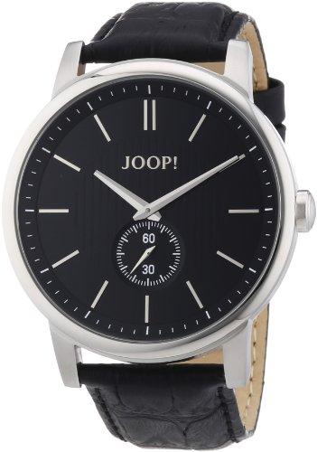 Joop Men's Quartz Watch Contender JP100981F01 with Leather Strap