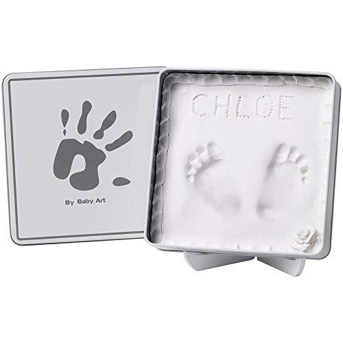 Baby Art Kit de Moulage et d'Empreintes Magic Box Blanc