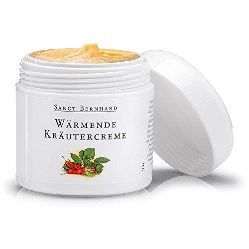 Sanct Bernhard Wärmende Kräuter-Creme mit Capsaicin, Rosskastanie, Hamamelis 100 ml - Kräuter-creme
