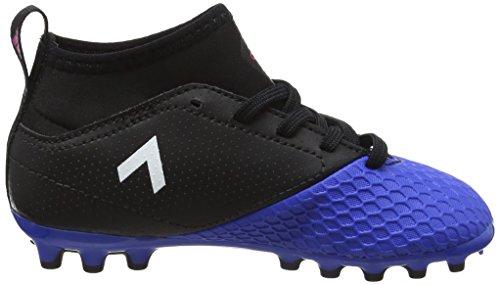 adidas Ace 17.3 Ag J, Scarpe da Calcio Unisex – Bambini Nero (Core Black/footwear White/blue)