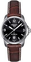 Comprar Certina  - Reloj Analógico de Cuarzo para Hombre, correa de Cuero color Marrón