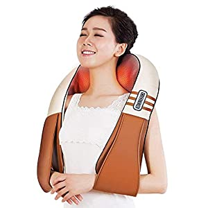 SED Heizungs-Erschütterungs-Massagegerät-Hals-volle Körper-Massager-Erschütterung Shiatsu-knetende Shiatsu entlasten rheumatische Schmerz fördern den Durchblutungs-Haushalt des Kopfs