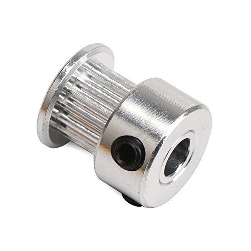 UEETEK-5-PCS-aluminium-2GT-GT2-poulies-20-dents-alsage-5mm-pour-imprimante-3D-Reprap-Mendel-Prusa