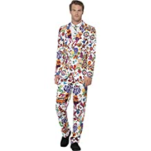 Smiffy 's traje de hombre Groovy Stand Out Suit (Tamaño Grande)