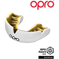 Opro Power-Fit | Adult Handmade Mouthguard | Gum Shield for Rugby, Hockey, Lacrosse, Boxing, and Other Contact and Combat Sports (Ages 10+) | 18 Month Dental Warranty