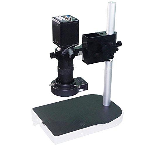 2.0MP 8x-100x HD Industrie Mikroskop Kamera Set VGA Video Ausgang R130C-Mount Objektiv Ständer Halterung 40LED Licht Illuminator f PCB -