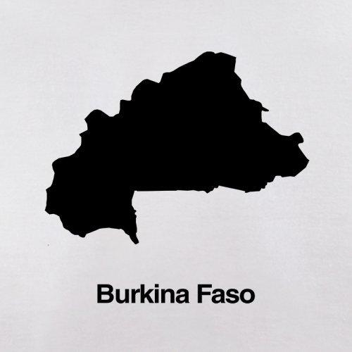 Burkina Faso Silhouette - Herren T-Shirt - 13 Farben Weiß