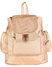 Paras Fashions Stylish Synthetic Leather College School Casual Backpack For Girls Womens