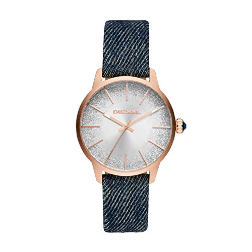 Diesel Women's Analogue Quartz Watch with Textile Strap DZ5566