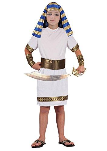 Fiori Paolo Principe del Nilo Costume Bambino, Bianco, L (L (7-9 anni) 61231.L