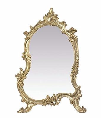 Deko Tischspiegel Spiegel antik Polyresin 56 cm