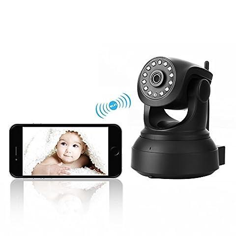 Wireless IP Kamera Netzwerk Indoor Überwachungskamera INKERSCOOP WiFi Sicherheitskamera, dreh-