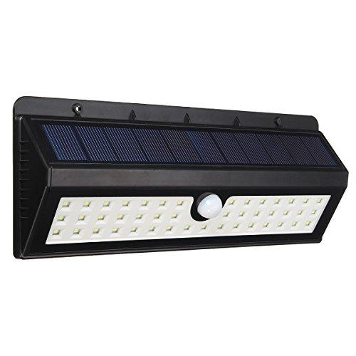 Multimode-led (Solarleuchte Multimode, GLISTENY 44 LED Solarlampen mit Bewegungsmelder Super Helle Solar Betriebener IP65 wasserdichte Solarlicht Lampe Wireless Security Fuer Yard Gartendeko Auffahrt Außenwand)
