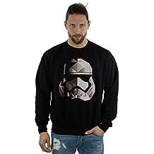Star Wars hombre The Last Jedi Stormtrooper Mono Cubist Helmet Camisa De Entrenamiento