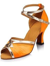 Miyoopark - Ballet Mujer, Color Naranja, Talla 36