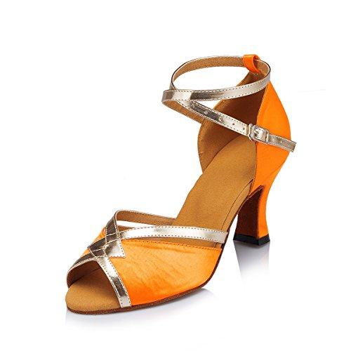 Miyoopark , Salle de bal femme Orange-7cm Heel
