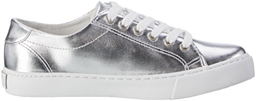 Ralph Lauren Slater, chaussons d'intérieur fille Silber (Silver Metallic W/ white pp)