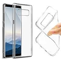 Secron Samsung Galaxy Note 8 Ultra İnce Silikon Kılıf Şeffaf