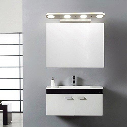ZHMA Luce specchio per trucco 12W, Lampada per specchio da bagno a ...