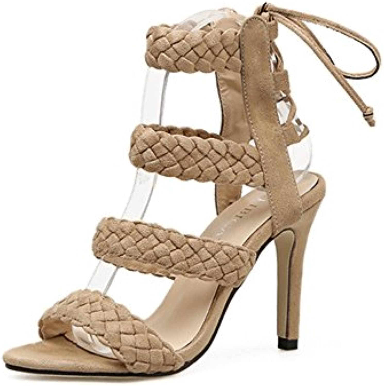 Chenyongping Sandali con Cinturino da Donna, Cinturino alla cav Cinturino da Donna con Tacco Alto e Tacco Alto... | Nuovo mercato  | Maschio/Ragazze Scarpa