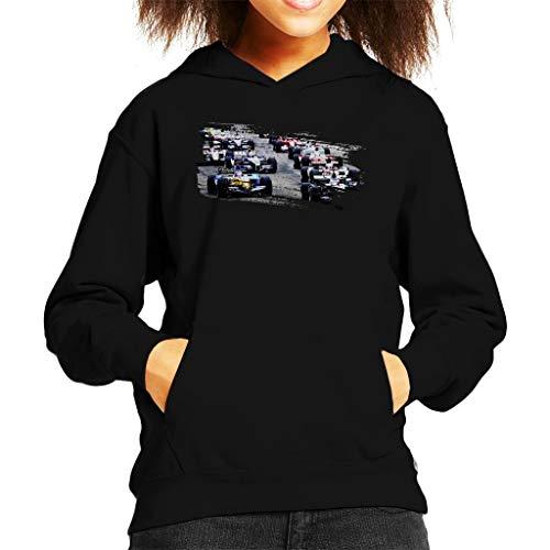 Motorsport Images San Marino GP 2005 Starting Shot Kid's Hooded Sweatshirt -