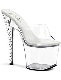 PleaserUSA Gogo-Platform High Heels Diamond-701