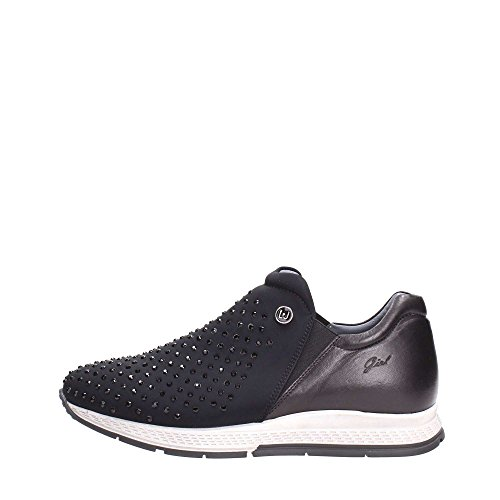 Liu Jo Girl UB22600 Slip On Donna Tessuto Nero Nero 39