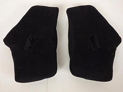 Pair of Foam Interior of Falcon Cross Lazer Side Motorbike Helmet Size M Brand New