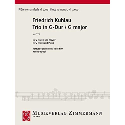 Trio in G-Dur op. 119: Für 2 Flöten und Klavier