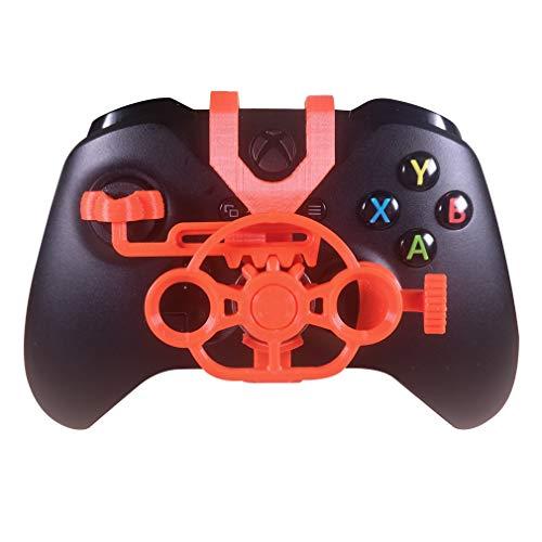 Xbox One S/X Mini-Lenkrad, Xbox One Controller, Ersatzzubehör für alle Xbox Rennspiele Orange
