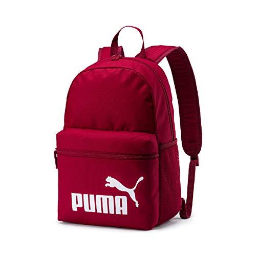 Puma Phase Backpack Mochilla, Unisex Adulto, Rojo (Rhubarb), Talla única